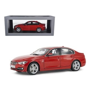 BMW F30 3 Series Melbourne Red 1/18 Diecast Car Model by Paragon