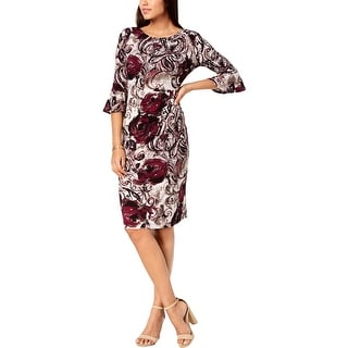 Connected Apparel Womens Wear to Work Dress Office Sheath