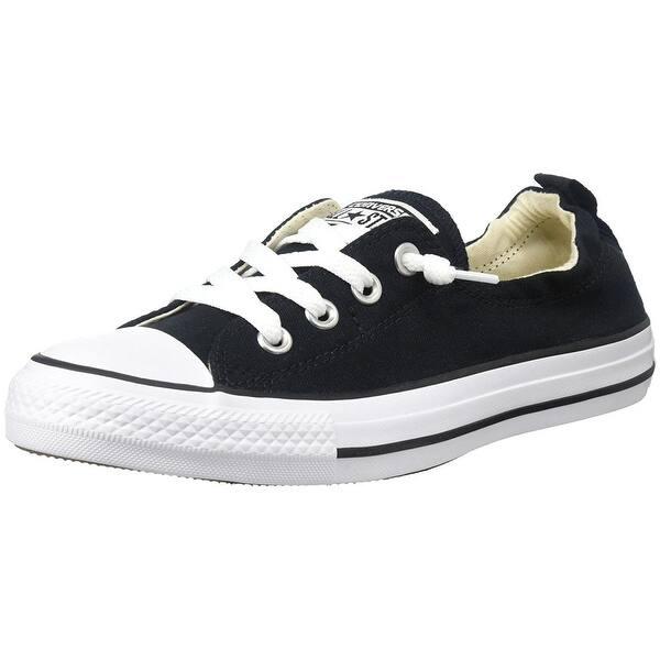 61b40df80d4 Shop Converse Women's Chuck Taylor Shoreline Slip Casual Shoe, Black ...