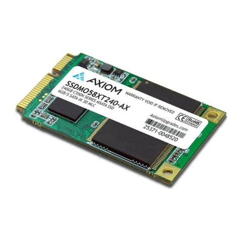 Axiom 240GB C550n Series mSATA SSD 6Gb/s SATA-III Axiom 240GB C550n Series mSATA SSD 6Gb/s SATA-III