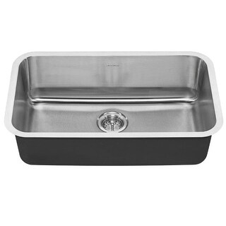 "American Standard 18SB.9301800S Portsmouth 29-3/4"" Single Basin Stainless Steel Kitchen Sink for Undermount Installations -"