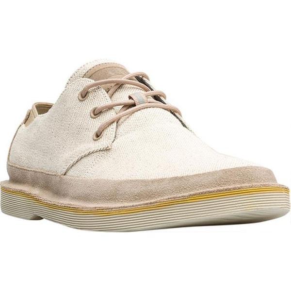 Camper Men's Morrys Derby Shoe Beige Canvas
