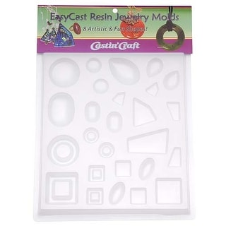 Link to Easy Cast Jewelry Mold for Epoxy Resin Casting 2 Similar Items in Jewelry & Beading