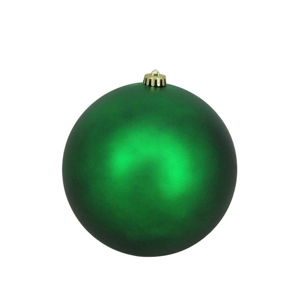 Overstockmatte Green Shatterproof Christmas Ball Ornament 8 200mm Green Plastic Dailymail