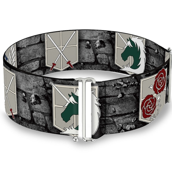 Attack On Titan Military Logos Castle Wall Cinch Waist Belt ONE SIZE