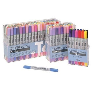 Copic - COPIC Ciao Marker - Set - 12-Color Basic Set