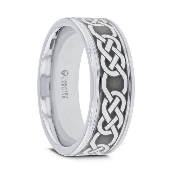 ccd8ff4e1424a Shop Thorsten PALATINE   Tungsten Rings for Men   Tungsten   Comfort ...