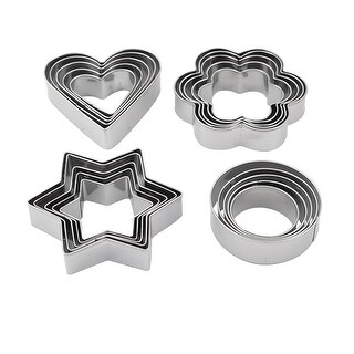 Home Kitchen Biscuit Cupcake Mould Cookie Baking Cutter 20 in 1