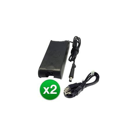 Replacement 65W Laptop Adapter Charger for Dell PA-10 PA10 PA-3E PA-1900-02D (2 Pack)