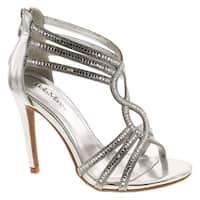 Static Footwear Womens Sh020 Open Toe Strappy Dress Sandals Shoes