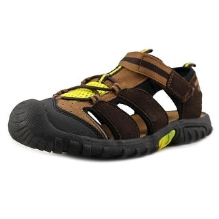 Jumping Jacks Beachcomber Youth Round Toe Synthetic Multi Color Sport Sandal