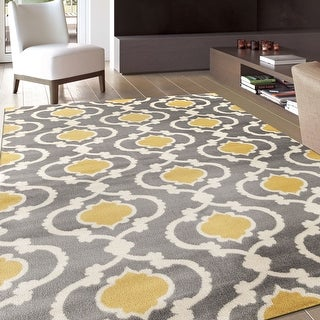 Link to Porch & Den Touro Trellis Area Rug Similar Items in Transitional Rugs