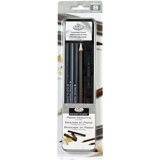 Charcoal & Pastel Drawing Set W/Tin-