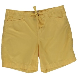 LRL Lauren Jeans Co. Womens Chino Colored Casual Shorts
