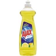 Ajax 44668 Dish Detergent Liquid, Lemon, 12.6 oz