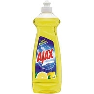 Ajax 44668 Dish Detergent Liquid, Lemon, 12.6 oz