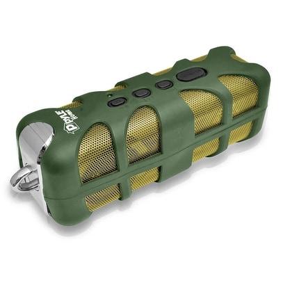 Sound Box Splash Rugged and Splash-Proof Bluetooth Marine Grade Portable Wireless Speaker (Green)