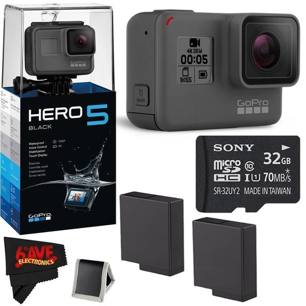 GoPro HERO 5 Black + 32GB Memory Card + Accessories Kit