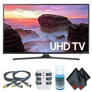 Samsung MU7500-Series 49 inch-Class HDR UHD Smart Curved LED TV w/ Accessories