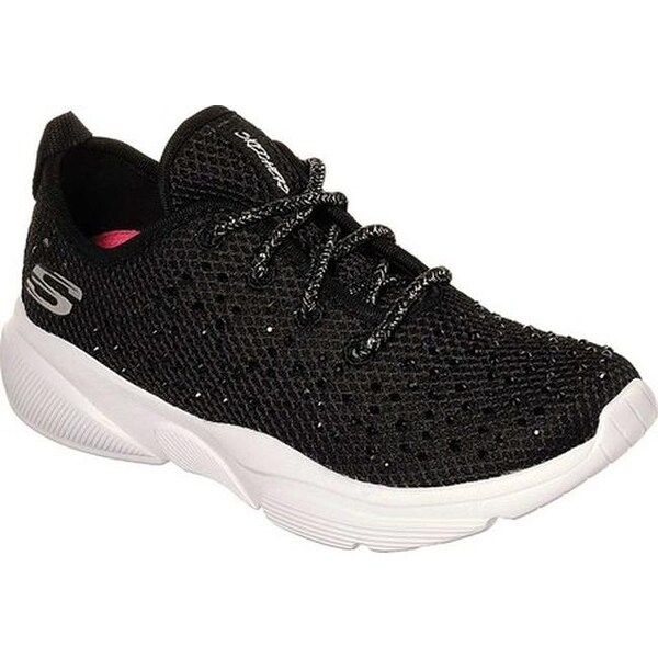 Skechers Girls' Meridian Intentful Sneaker BlackWhite