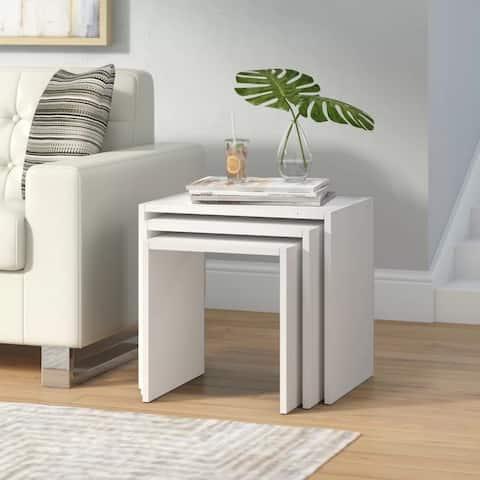 Nora Modern 3-piece Nesting Coffee Table Set