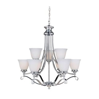 "Craftmade 39829 Chelsea 9 Light 30"" Wide 2 Tier Chandelier"