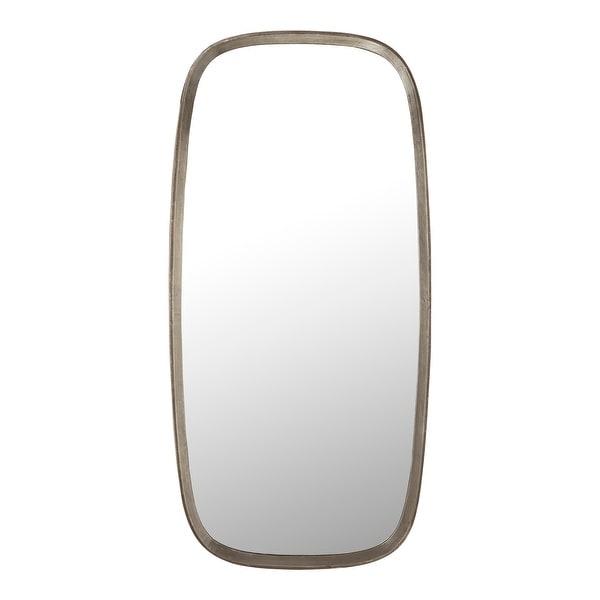 Aurelle Home Modern Aluminum Frame Round Mirror. Opens flyout.