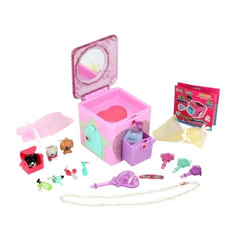 Funlockets Secret Surprise Pet Parlour Jewelry Box Activity Set - Pink
