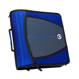 Link to Case-it Mighty Zip Tab O-Ring Binder, Blue, 3 Inches Similar Items in Binders