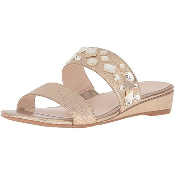 Nine West Womens Temisha Dress Sandals Embellished