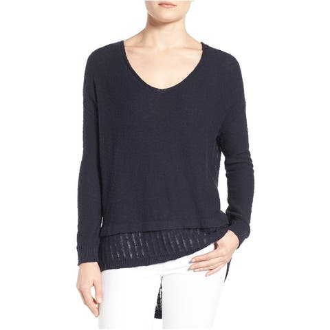 Vince Camuto Womens Pullover Knit Sweater