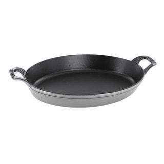 "Staub Cast Iron 14.5"" X 11.2"" Oval Baking Dish"