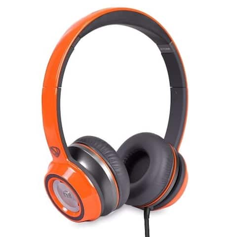 Monster N-Tune High Performance On-Ear Headphones w/3.5mm Plug (Neon Orange)