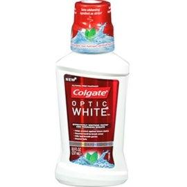 Colgate Optic White Mouthwash Sparkling Fresh Mint 8 oz