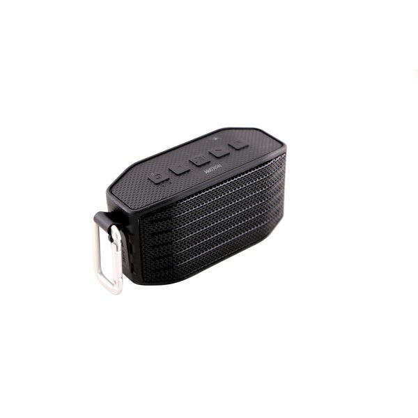 TechComm Raven Water-resistant Mini Wireless Portable Hi-Fi Bluetooth Speaker