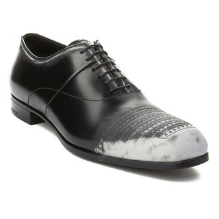 Prada Men's Leather Oxford Dress Shoes Black (More options available)