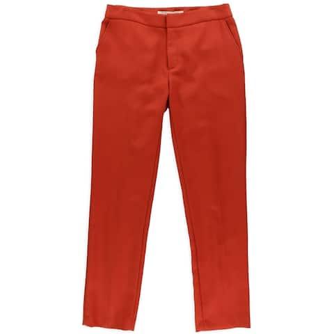 Rachel Roy Womens Campari Dress Pants, Red, 8