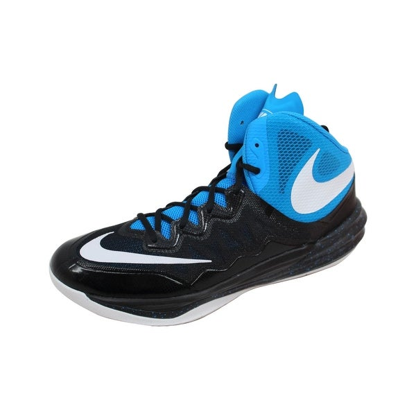 Nike Men's Prime Hype DF II 2 Black/White-Photo Blue-Blue Lagoon 806941-007