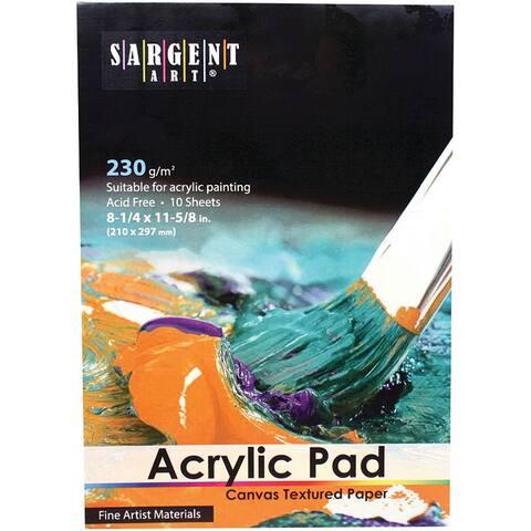 Sargent art acrylic pad 235025