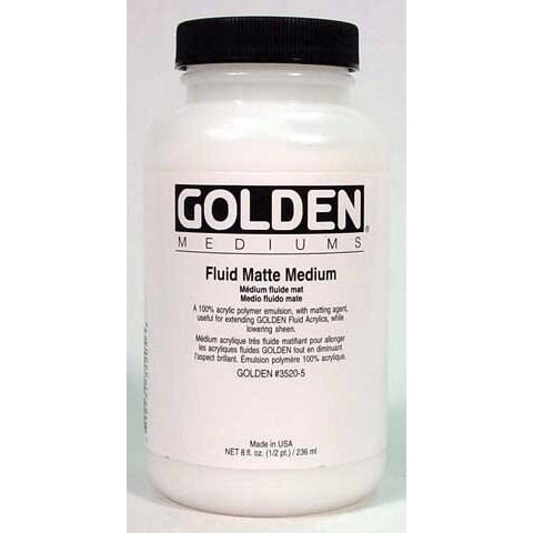 Golden - Fluid Matte Medium - 8 oz.
