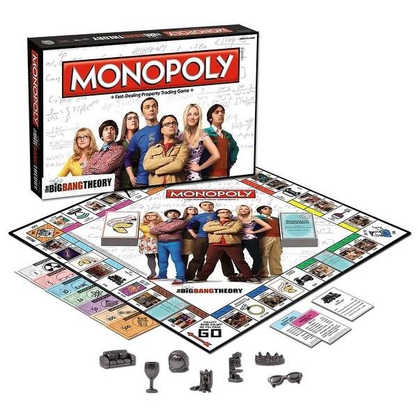 Monopoly Big Bang Theory Board Game - multi
