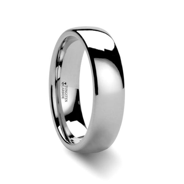 THORSTEN - DOMINA Domed Tungsten Carbide Wedding Ring - 6mm