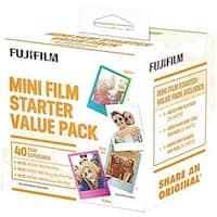 Fujifilm 600017191 Instax Mini Film Starter Value Pack