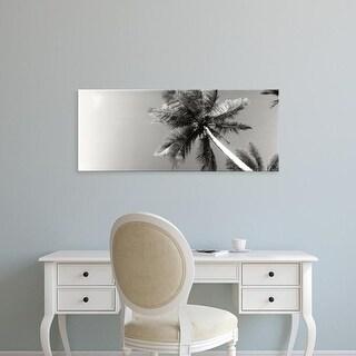 Easy Art Prints Panoramic Image 'View of palm trees, Morro De Sao Paulo, Tinhare, Cairu, Bahia, Brazil' Canvas Art
