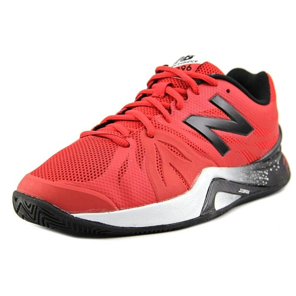 New Balance C1296 Men 2E Round Toe Synthetic Red Tennis Shoe