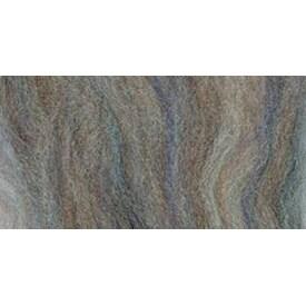 """Agate Variegated - Wool Roving 12"""" .22Oz"""