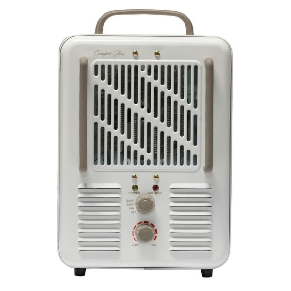 Heater World World Marketing Euh352 Comfort Glow Milkhouse Style Electric Heater 3-Prong  Grounded Plug