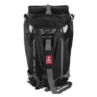 Rawlings Hybrid Backpack/Duffel Players Bag (Black)