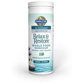 Garden of Life Dr. Formulated Relax & Restore Original Stevia Free 6.7 oz (190g)