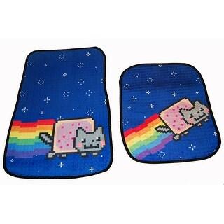 Nyan Cat Car Floor Mats Set